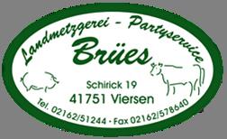 Logo Metzgerei Brües