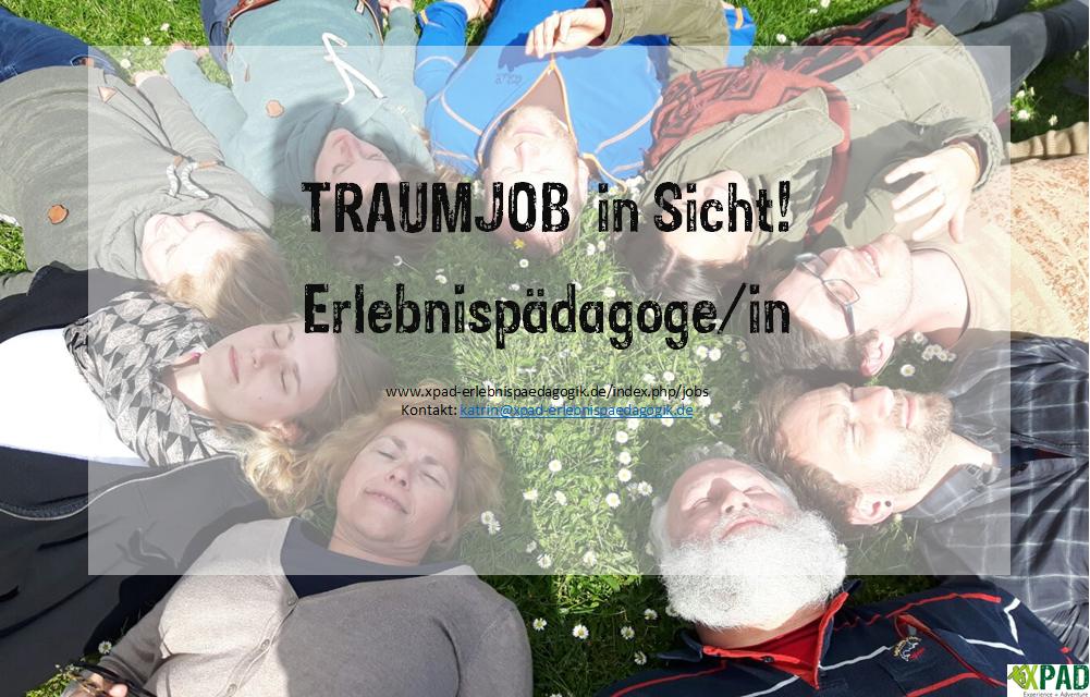 Traumjob Erlebnispädagoge/in!