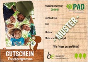 XPAD Gutschein Ferienprogramme