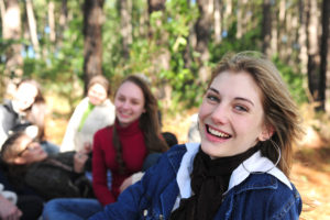 Teenagergruppe